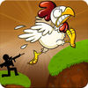 Chicken Shooting Space Invader App Icon