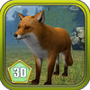 3D Wild Fox Real Simulator Premium App Icon