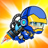 HERO SUPER JET BOY SHOOTER App Icon