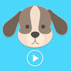 Animated Crazy Dogs Stickers App Icon