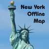 New York Offline Map - Address Subway and Restaurant Finder App Icon