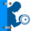Fitness Buddy  1700 plus Exercise Workout Journal App Icon