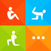 Fitness Trainer  100 plus home workouts 600 plus exercises on-the-go personal trainer by Fitness Buddy