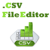 Excel Csv File Editor and XLS XLSX File Converter App Icon