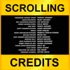 Scrolling Credits - Use with iMovie to Scroll Text in Your Movies