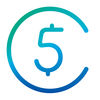 5coins - Spend Everyday App Icon