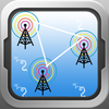 Find Tower - Locate all the cell phone GSM and LTE BTS antenna towers around you using GPS to boost reception
