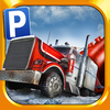 3D Ice Road Trucker Parking Simulator Game - Real Monster Truck Driving Test Car Park Sim Racing Games