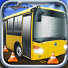3D Bus Parking Simulator Game - Real Monster Truck Driving Test Car Park Sim Racing Games