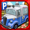 3D Cartoon Car Parking Simulator - Real Toy City Police Bus Truck Driving Park Sim Racing Games