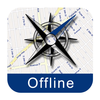 Hamburg Street Map Offline App Icon