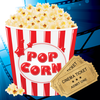Popcorn Time - The Ultimate Free Movies And Exciting Films Quiz App Icon