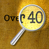 Over 40 plus Magnifier and Flashlight App Icon