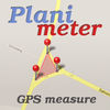 Planimeter - Field Area Measure on Map and by GPS Tracking App Icon