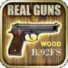 rgBeretta 92FS Wood  Real Guns