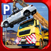 Scrap Yard Trucker Parking Simulator a Real Monster Truck Extreme Car Driving Test Racing Sim
