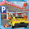 Petrol Station Car Parking Simulator a Real Road Racing Park Game App Icon