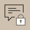Secure chats and messages App Icon
