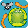 Frog Flies and Snakes Ad Free App Icon