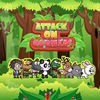 Angry animals attack gorillas App Icon