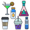 Beverage Stickers Pack App Icon