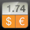 Currency Converter HD money calculator with exchange rates for 150 plus foreign currencies App Icon