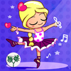 Ballet dancer princess - Ballerina fairy tale game for kids featuring classical music