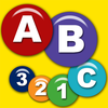 Preschool Connect the Dots Game to Learn Numbers and the Alphabet with 200 plus Puzzles